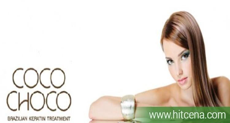 2000 rsd za ispravljanje kose CocoChoco keratinom + POKLON maska za kosu