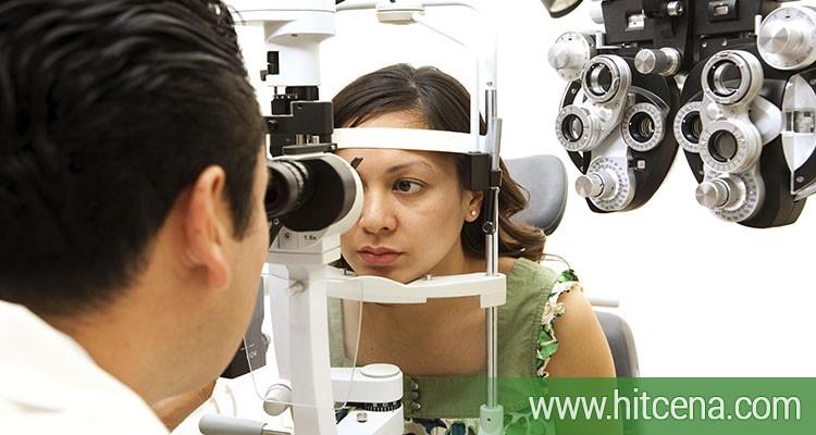 2490 rsd za oftamološki pregled, dioptrijski ram i stakla + gratis futrola i krpica