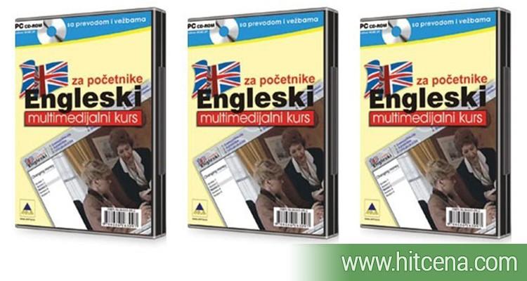Engleski jezik za početnike na CD-u za samo 900rsd