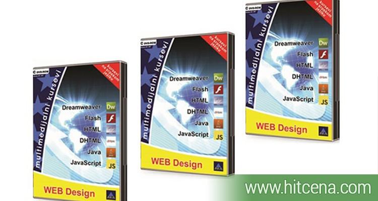 Komplet od 6 kurseva za Web design na jednom DVD-u za 600rsd