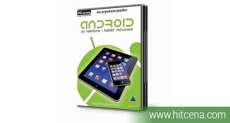 Multimedijalni kurs ANDROID za telefone i tablete po hit ceni od 900 rsd