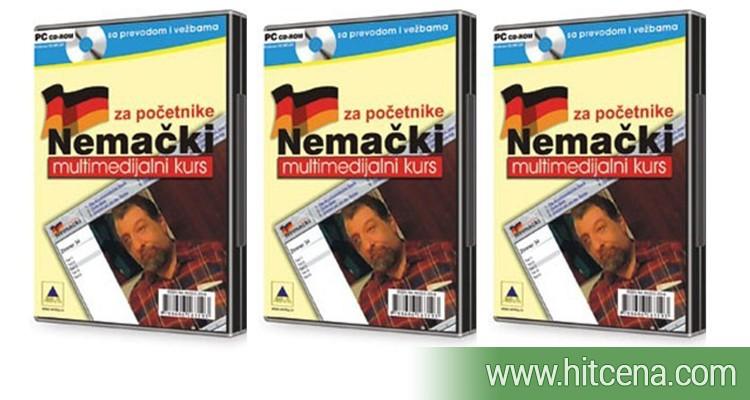 Nemački jezik za početnike na CD-u za samo 900rsd