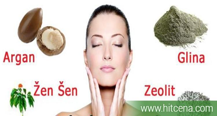 ZAUSTAVITE GODINE!!! Tretmani za podmladjivanje i zatezanje lica prirodnim organskim maskama: ŽEN ŠEN, ARGAN, GLINA, ZEOLIT + drenaza lica