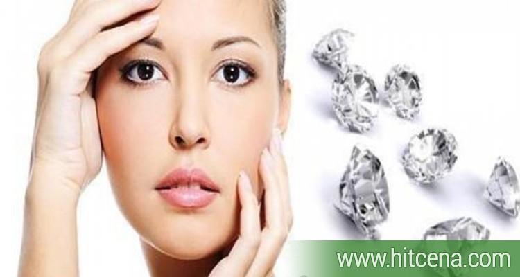 dijamantska mikrodermoabrazija lica, masaza, maska prema tipu koze, neagresivna metoda, uklanjanje površinskog sloja kože, svi tipova kože,