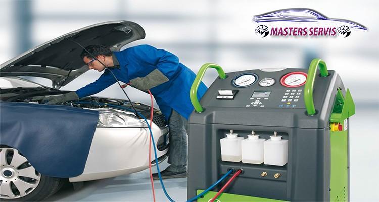servis auto klime, dopuna freona, pregled vozila na dizalici, dopuna freona auto klime, masters servis