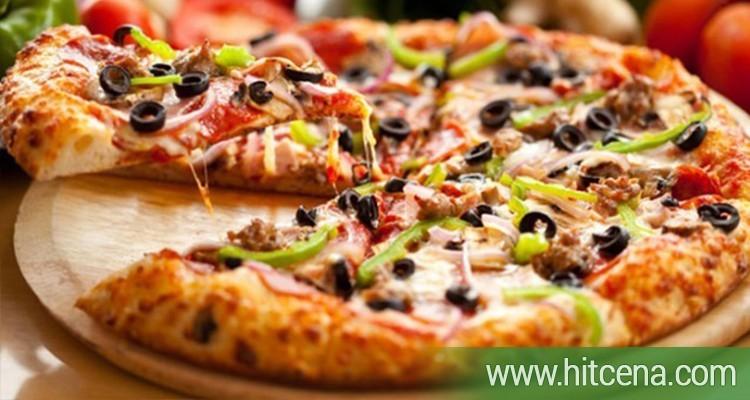 pica, kaprićoza pica, pizza capriciosse, konoba akustik na dorćolu, desert, hitcena.com, hit cena, popusti, hrana i pice