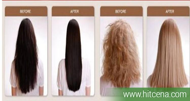 eliminiše kovrdze, bez pegle ya kosu,  prirodno, trajno, ispravljanje kose,