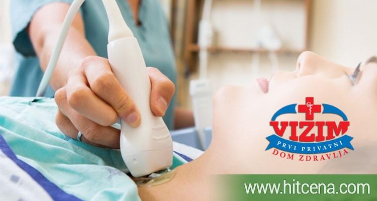 ultrazvuk stitne zlezde, ultrazvuk stitne zlezde popusti, hormoni stitne zlezde, hormoni stitne zlezde popusti, dom zdravlja vizim, dom zdravlja vizim popusti